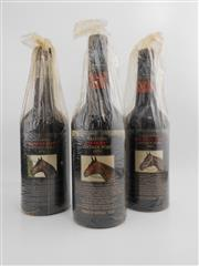 Sale 8514W - Lot 77 - 3x Yalumba Thoroughbred Series Vintage Port, Barossa Valley - 1x 1976, 1x 1979, 1x 1980 (Kingston Town)