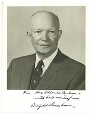 Sale 8555A - Lot 5013 - Dwight Eisenhower