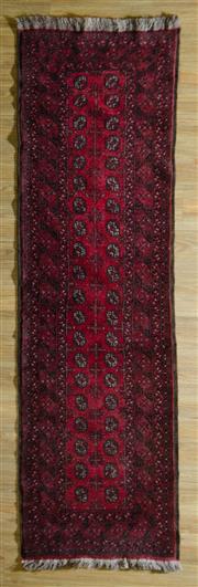 Sale 8680C - Lot 60 - Afghan Qunduzi 293cm x 82cm