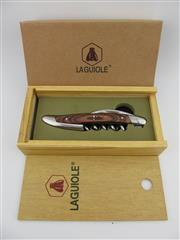 Sale 8367 - Lot 704 - 1x Laguiole Wood Handled Corkscrew - in gift box