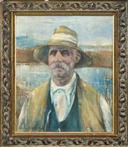 Sale 8492 - Lot 599 - Artist Unknown (XX) - Eurich 59.5 x 50cm
