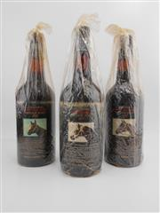 Sale 8514W - Lot 78 - 3x Yalumba Thoroughbred Series Vintage Port, Barossa Valley - 1x 1977, 1x 1978, 1x 1980 (Kingston Town)
