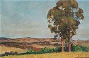 Sale 8682 - Lot 2037 - Raymond Lindsay (1904 - 1960) - Canowindra Pasture 20 x 30cm