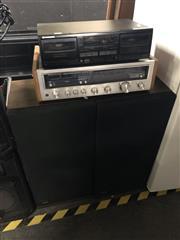 Sale 8819 - Lot 2236 - Kenwood K4600 Reciver, Pioneer Cassette Deck & Pair Kenwood Speakers