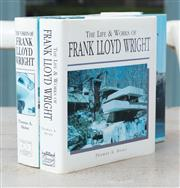 Sale 8866H - Lot 89 - Frank LLoyd Wright, Two Books, His Vision and Life & Works by Thomas A Haines