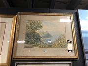 Sale 8865 - Lot 2076 - David Powell - Watercolour - Bush Scene inscribed Verso