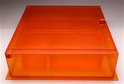 Sale 9131 - Lot 61 - Vintage lockable first aid box (H:15.5cm W:56cm D:56cm)