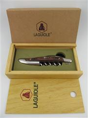 Sale 8367 - Lot 705 - 1x Laguiole Wood Handled Corkscrew - in gift box