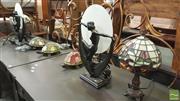 Sale 8390 - Lot 1544 - 7 Various Table Lamps