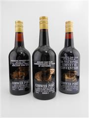 Sale 8514W - Lot 62 - 3x Rovalley Wines Car Club Series Cobweb Port - series 1, 2 & 5