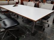 Sale 8822 - Lot 1087 - Confair Wilkhahn Fold Out Office Table on Castors