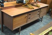 Sale 8338 - Lot 1069 - Younger Teak and Afromosia Sideboard by BV Wilkins