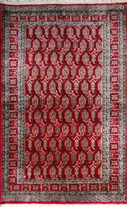 Sale 8321C - Lot 100 - Pak Bukhara 204cm x 140cm RRP $1200