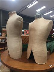 Sale 8822 - Lot 1769 - Pair of Vintage Shop Mannequins