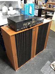 Sale 8819 - Lot 2287 - Midland Model 13-892 CD Reciver, Yaesu FRG-8800 Communications Reciver, Pair KEF Speakers