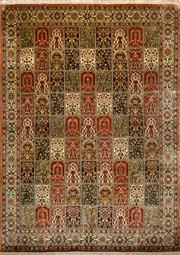 Sale 8307A - Lot 7 - Kashmiri Silk 244cm x 337cm RRP $8000