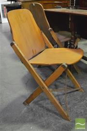 Sale 8361 - Lot 1082 - Set of 3 Folding Chairs
