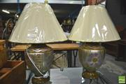 Sale 8392 - Lot 1002 - Pair of Oriental Table Lamps