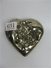 Sale 8431A - Lot 631 - Pyrite Heart, Peru