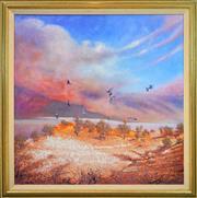 Sale 8316 - Lot 514 - Michael Nicholas (1942 - ) - Heart Break Corner 121 x 121cm