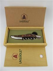 Sale 8367 - Lot 707 - 1x Laguiole Wood Handled Corkscrew - in gift box
