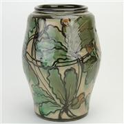 Sale 8387 - Lot 25 - Danico Ceramic Chestnut Vase