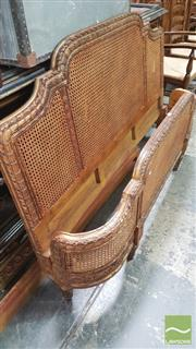 Sale 8390 - Lot 1571 - French Style Gilt Bed