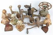Sale 8403 - Lot 30 - Cast Iron Ball & Claw Bath with Other Metal Wares incl Alexanderwerk Old Grinder