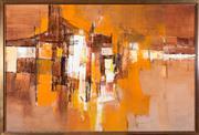 Sale 8440A - Lot 24 - Susan Sheridan - Street Corner 60 x 90cm