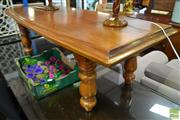Sale 8507 - Lot 1056 - Timber Coffee Table