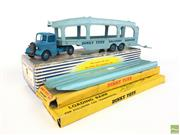 Sale 8559A - Lot 55 - Dinky No.982 Bedford Pullmore Car Transporter and 2 No.994 Loading Ramps.