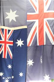 Sale 8578 - Lot 24 - Australian Flags (2)