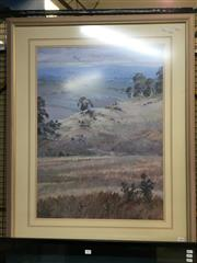 Sale 8776 - Lot 2048 - Margaret Willis - Near Larggen 1989 oil, 104 x 81.5cm (frame), signed lower left
