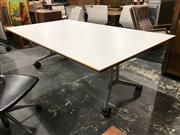 Sale 8822 - Lot 1094 - Confair Wilkhahn Fold Out Office Table on Castors