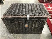 Sale 8817 - Lot 1071 - Wicker Trunk