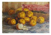 Sale 8828B - Lot 90 - Artist Unknown, Early 20th Century - French Still Life 28 x 42 cm