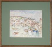 Sale 8892 - Lot 583 - Arthur Evan Read (1911 - 1978) - Moushole, Cornwall, England 21 x 25 cm