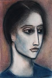 Sale 8938 - Lot 560 - Robert Dickerson (1924 - 2015) - Profile, 2006 28 x 19 cm