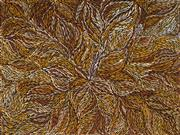 Sale 8960J - Lot 91 - Rosemary (Pitjara) Petyarre (c1965 - ) - Yam Leaf Dreaming 152 x 202 cm (stretched and ready to hang)
