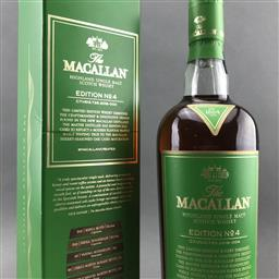 Sale 9120W - Lot 1473 - The Macallan Distillers 'Edition No.4' Highland Single Malt Scotch Whisky - limited edition, 48.4% ABV, 700ml in box