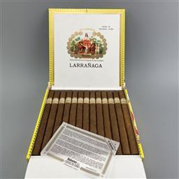 Sale 9165 - Lot 673 - Por Larranaga Montecarlo Cuban Cigars - box of 25 cigars, dated March 2020