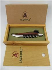 Sale 8367 - Lot 708 - 1x Laguiole Wood Handled Corkscrew - in gift box