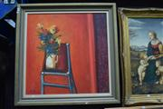 Sale 8410T - Lot 2001 - Thomas Tibor Lonyai (1938 - 1998), Still Life, oil on canvas, 91.5 x 91.5cm, signed lower left