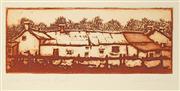 Sale 8492A - Lot 5087 - Peter Hickey (1943 - ) - Highland Farm 7.5 x 20cm