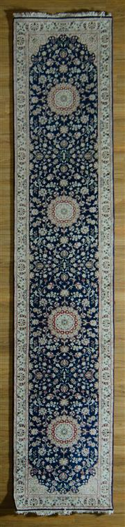 Sale 8680C - Lot 66 - Persian Indo Nain 397cm x 81cm