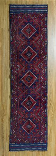 Sale 8717C - Lot 64 - Persian Baluchi Runner 260cm x 60cm