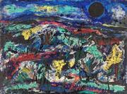 Sale 8838 - Lot 596 - Maximilian Feuerring (1896 - 1985) - Landscape 91.5 x 122cm