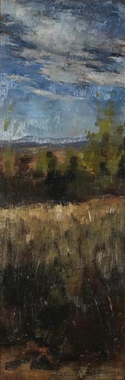 Sale 8901 - Lot 571 - Alice Marian Ellen Bale (1875 - 1955) - Countryscape 49 x 16.5 cm