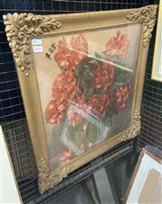 Sale 9004 - Lot 2012 - Allan Thomas Bernaldo decorative print in a gilt frame, 58 x 55cm