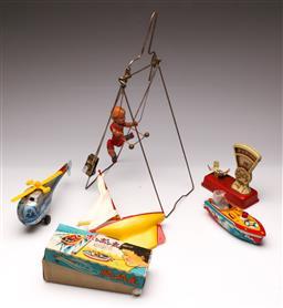Sale 9114 - Lot 3 - Collection of vintage toys inc wind up acrobat
